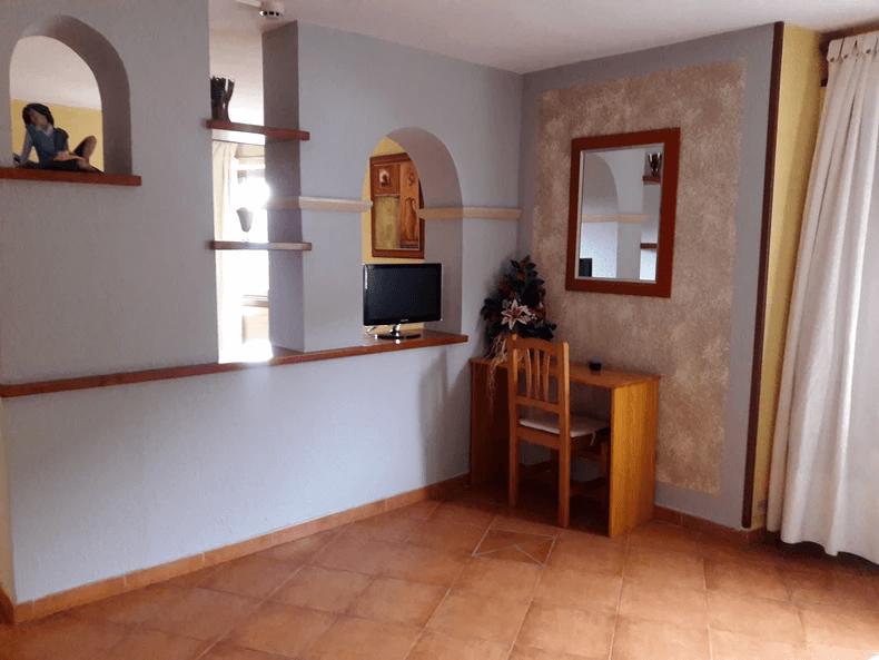 Habitaciones de uso individual o doble