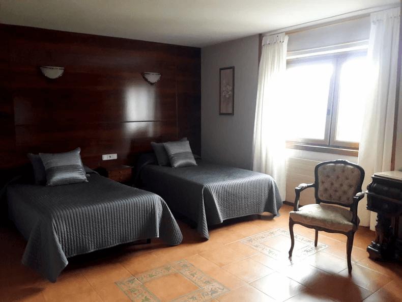 Habitaciones de uso individual o doble 1